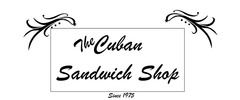 The Cuban Sandwich Shop Logo