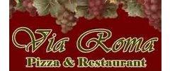 Via Roma Restaurant & Pizzeria Logo