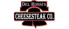 Del Rossi's Cheesesteak Co. Logo