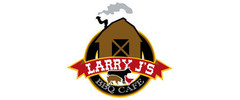 Larry J's BBQ Cafe Logo
