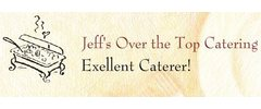 Jeff's Over The Top Catering Logo