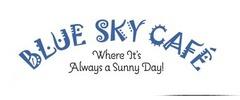 Blue Sky Cafe Logo