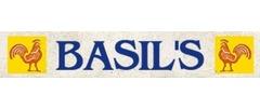 Basil's Chicken & Ribs logo
