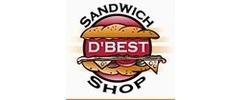 D'Best Sandwich Shop Logo