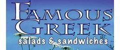 Famous Greek Salads & Sandwiches Logo