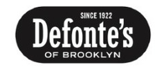 Defonte's of Brooklyn Logo