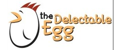 The Delectable Egg Logo
