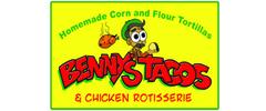 Benny's Tacos & Chicken Rotisserie logo