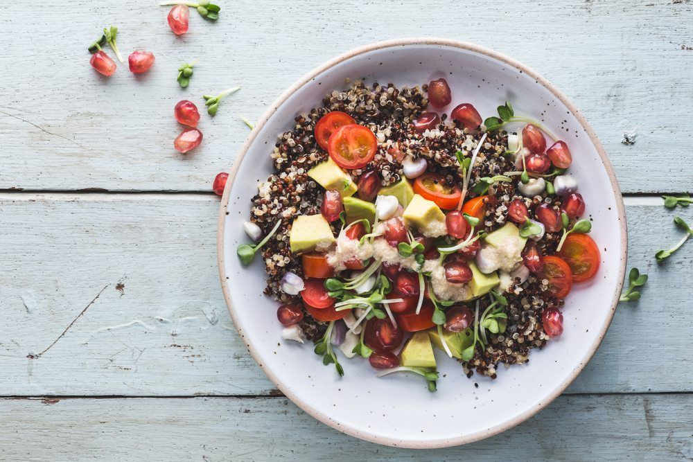healthy vegetarian lunch ideas