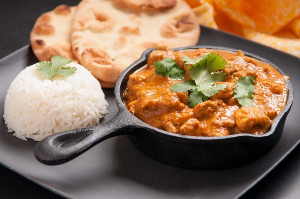 There are many types of curry throughout the world that are simmered in or covered with herbs and spices.