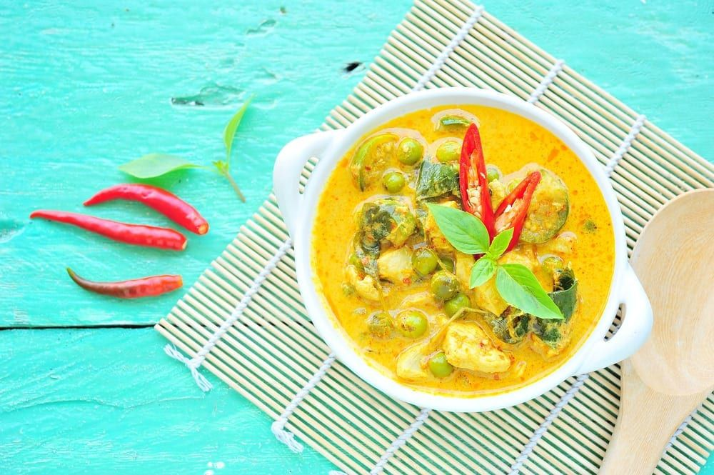 Types of curry galore to inspire your next catered event.