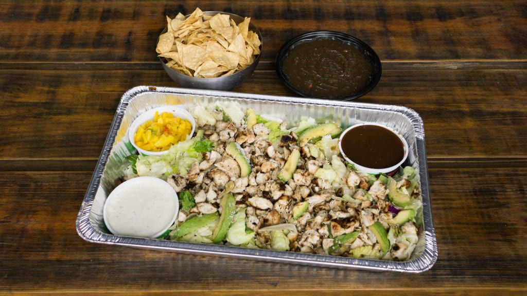 If you don't have hours to plan a meal for your office, try Baja Fresh Mexican Grill's convenient catering packages.