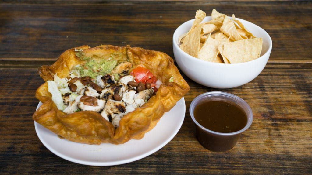 From hearty entrées to colorful, Mexican-inspired salads, check out Baja Fresh Mexican Grill's catering menu.