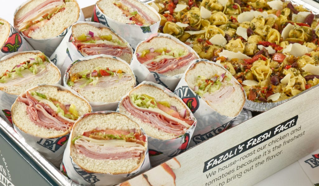 Check out Fazoli's catering menu, where you'll find dishes for vegetarians and meat eaters alike.