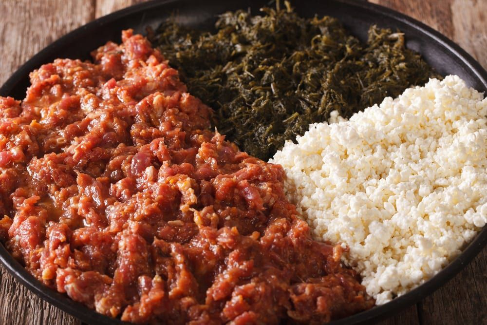 Ethiopian cuisine is a feast for the eyes as much as the palate.