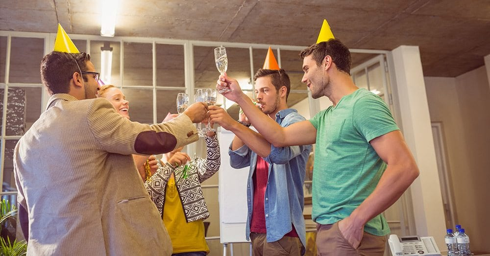 How to make office birthday parties fun.