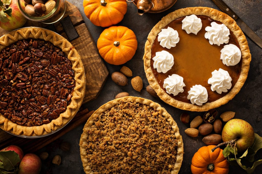 This Thanksgiving, celebrate the big day at the office with a round of delicious pies.