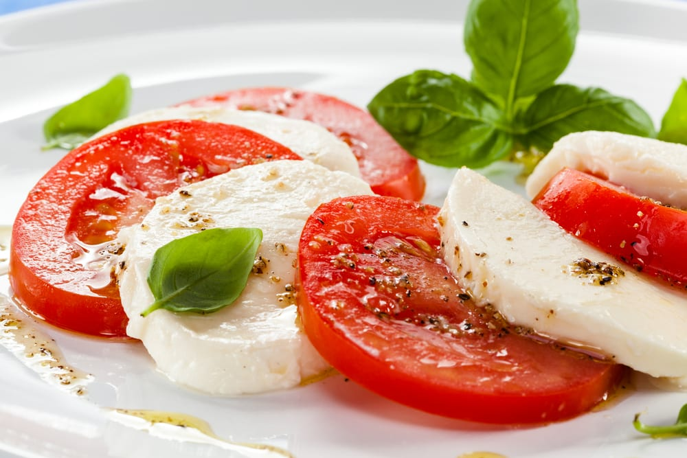 For your next meeting, try some of our favorite catering ideas for Italian starters, like the caprese salad.