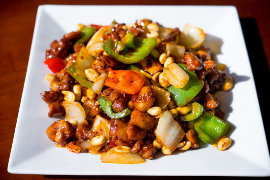 Chinese catering ideas like kung pao chicken are not only affordable but tasty.