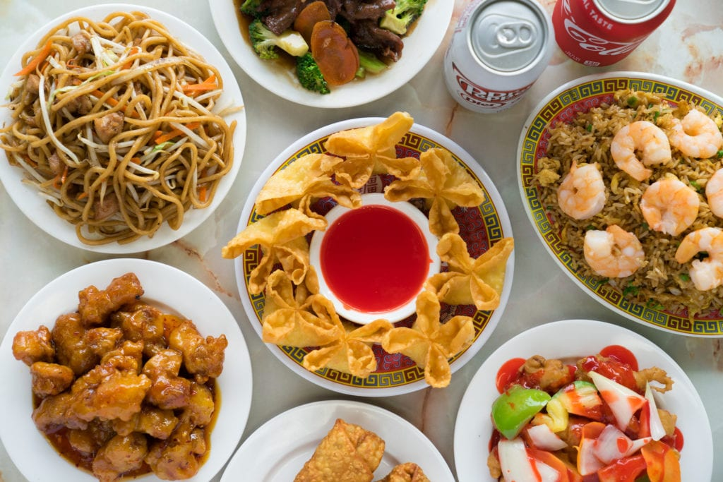 If you need affordable Chinese catering ideas for a work event, you can't go wrong with crab rangoon.