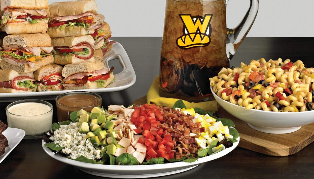 Which Wich turns out some of the best sandwich catering spreads you'll find in Detroit.