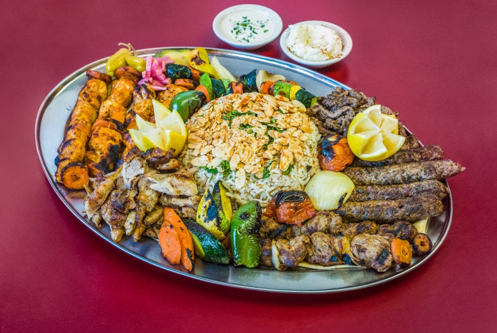 Boostan Cafe delivers some of the best Mediterranean catering options we've tasted in Detroit.