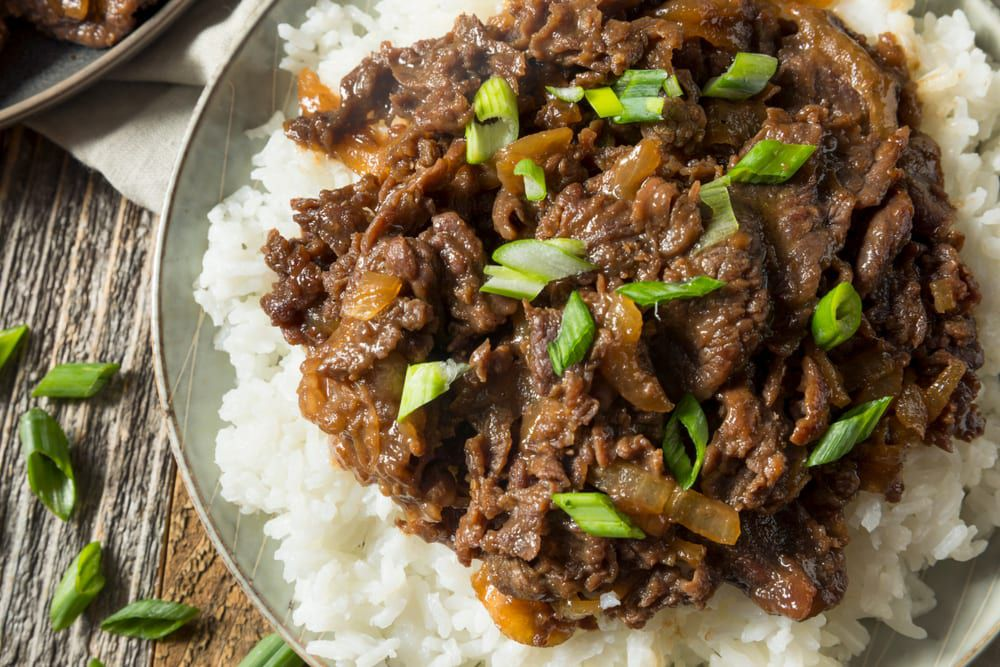 If you need catering ideas for your next meeting, try this traditional Korean food menu item, bulgogi.