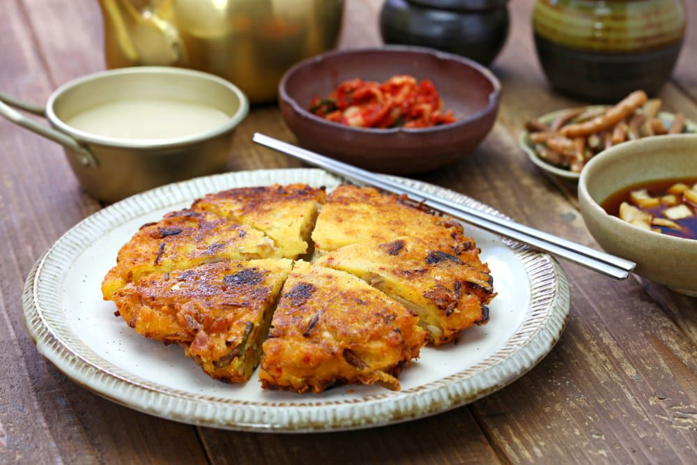 From coast to coast, you'll find Korean restaurants catering their own versions of this classic dish, kimchi pancakes.