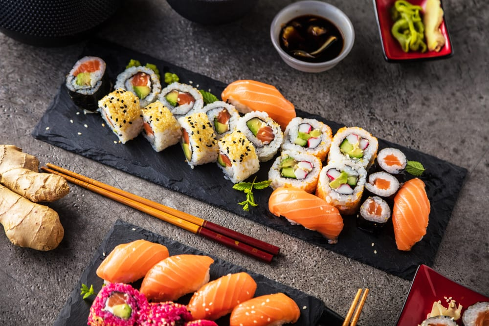 Maki rolls are a great option if you're planning to order sushi catering for your office.