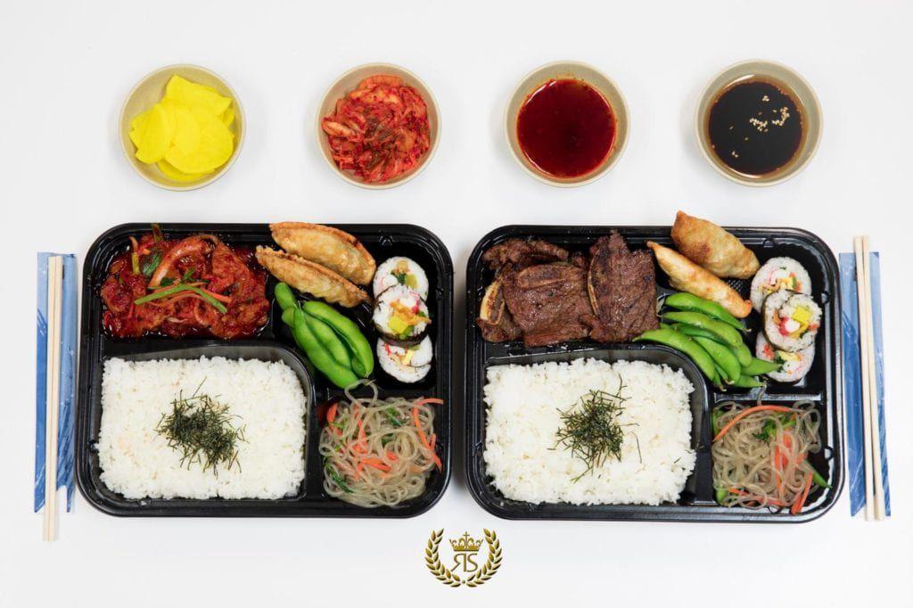 Koreana boxed lunch
