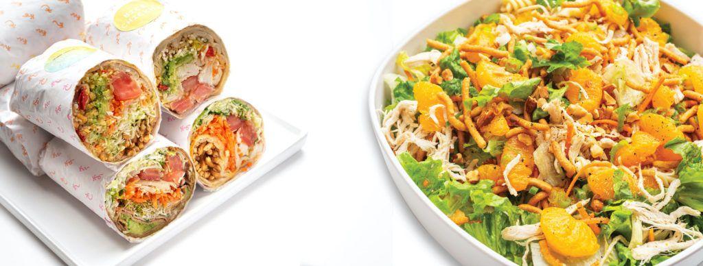 Calif. Chicken Cafe lunch