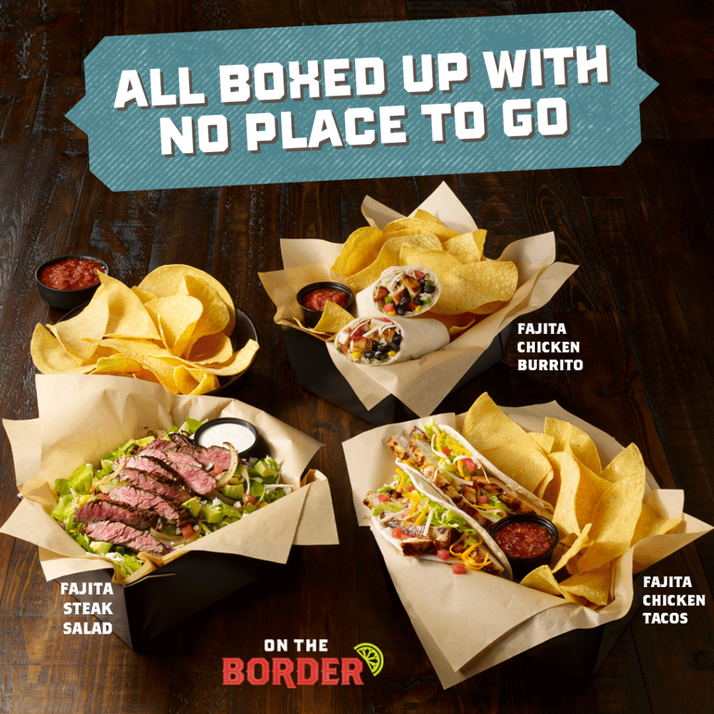 On The Border Lunch Menu Items