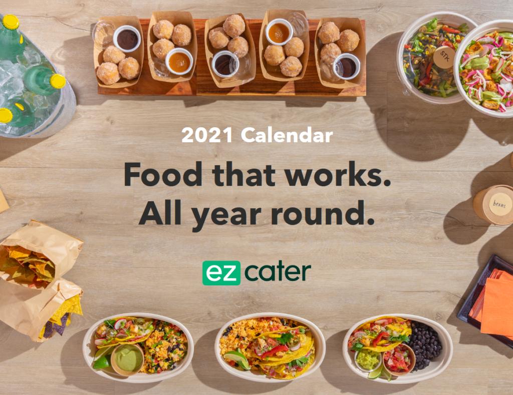 ezCater 2021 Food Holidays Calendar
