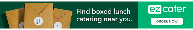 Boxed lunches delivered to your zipcode