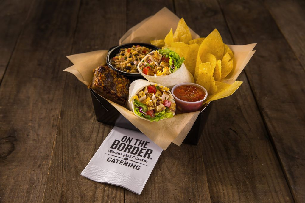 Boxed lunch from On The Border