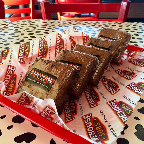 Firehouse Subs Brownies