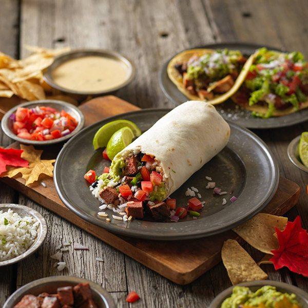 Qdoba Burrito