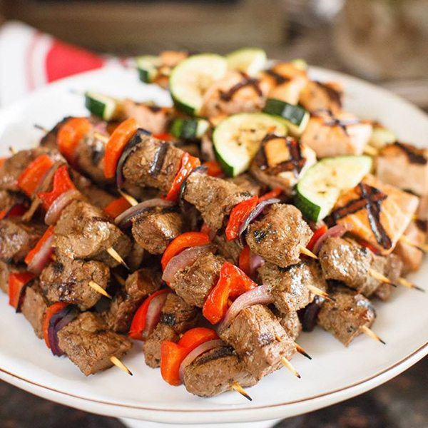 Zoe's Kitchen Kebabs