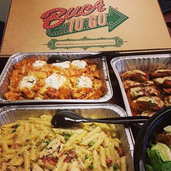 Buca di Beppo Catering Trays