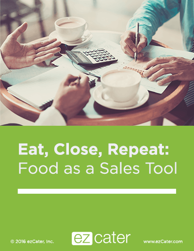 Food as a Sales Tool