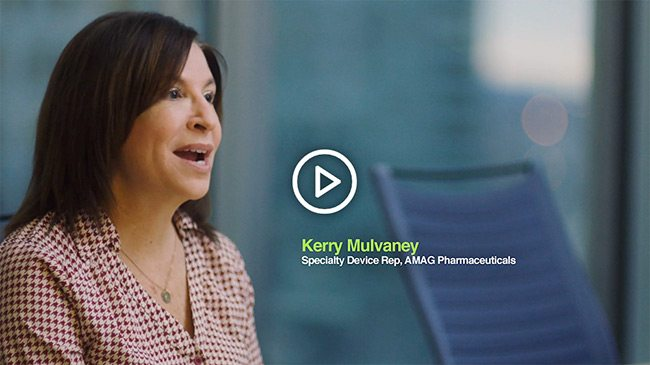Listen to Kerry Mulvaney, a Specialty Device Rep at AMAG Pharmaceuticals, talk about how ezCater has made her life easier and saved her time.