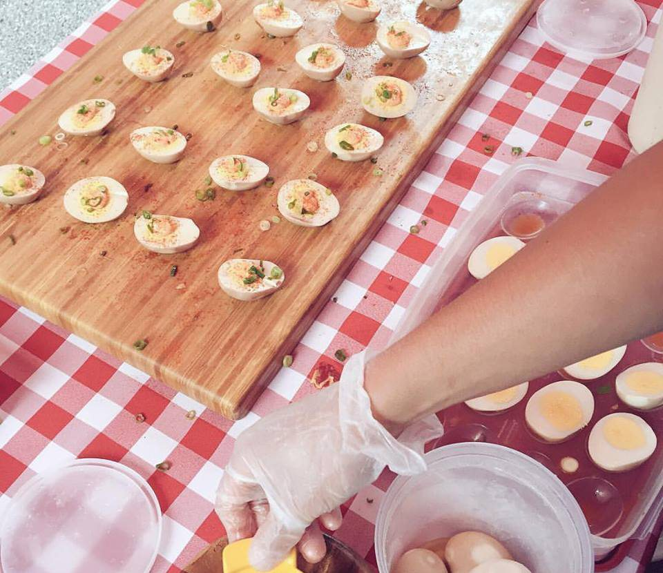 Bon Me Deviled Tea Eggs