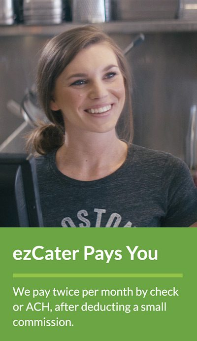 ezCater Pays you Twice a Month