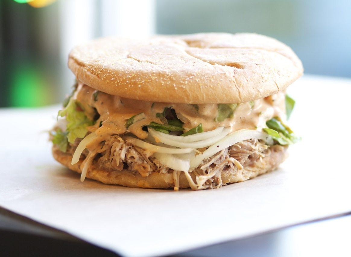 El Pelon Boston Sandwich