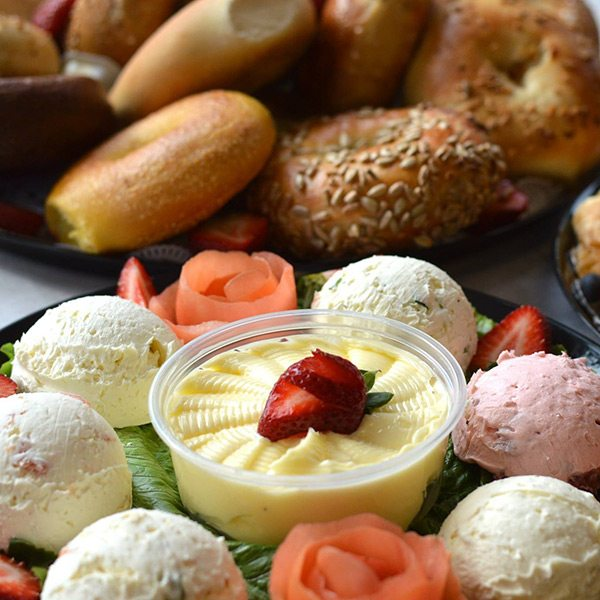 Atlantic Bagels Cafe NYC Breakfast