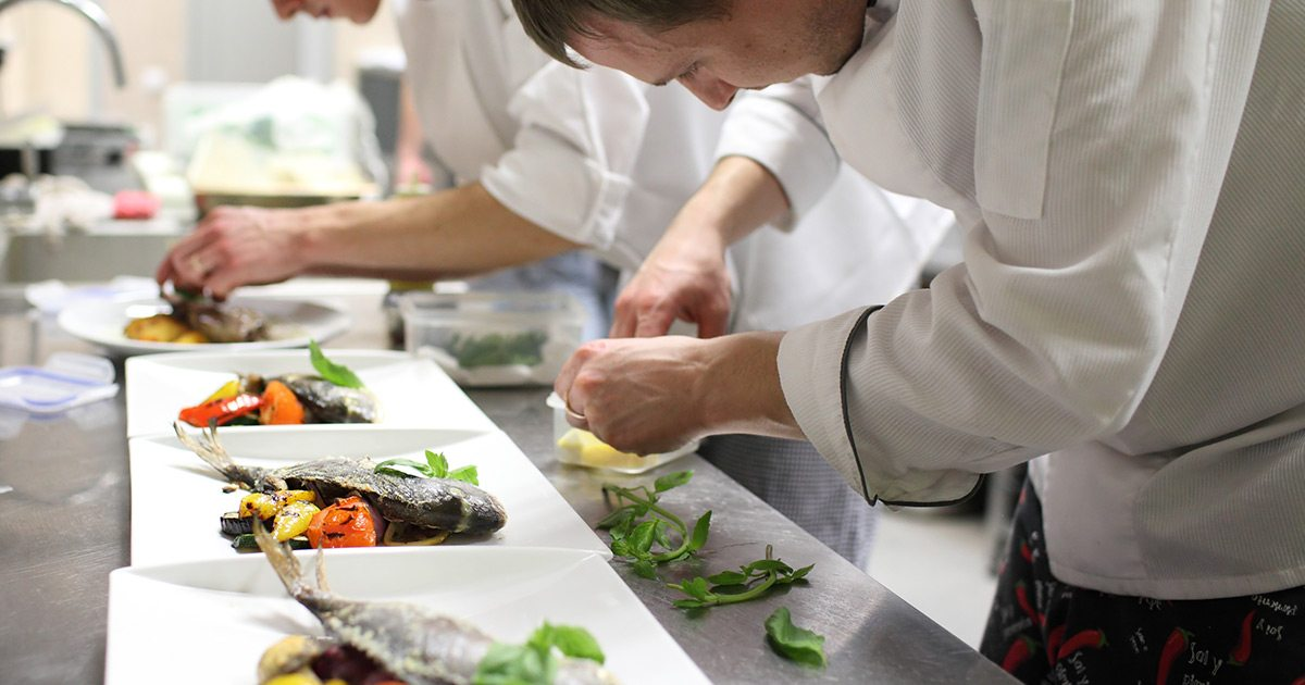 how to be a better chef at work