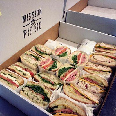 Mission Picnic Box Lunch San Francisco