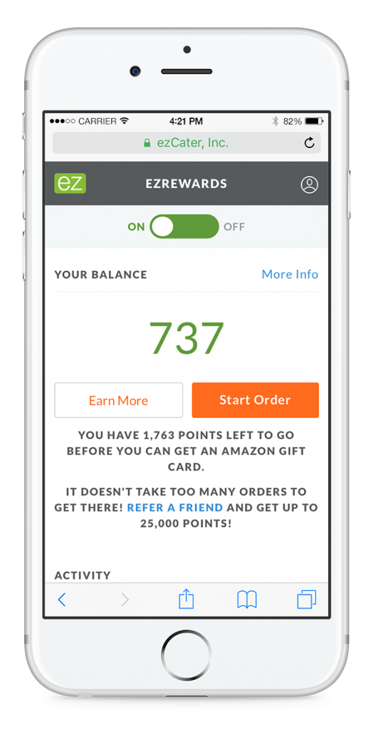 ezRewards Mockup