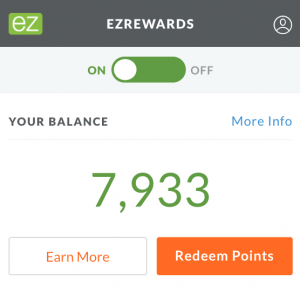 ezRewards Screenshot
