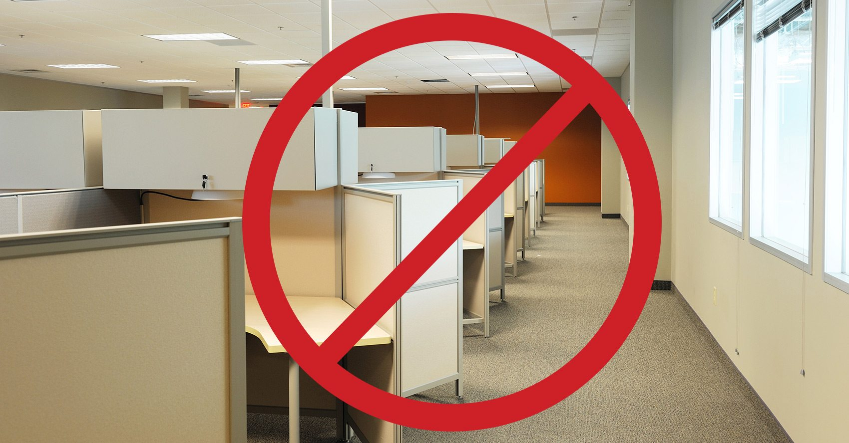 Office Decorating Tips   Remove The Cubicle